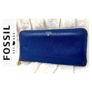 Fossil Designer Leather Wallet